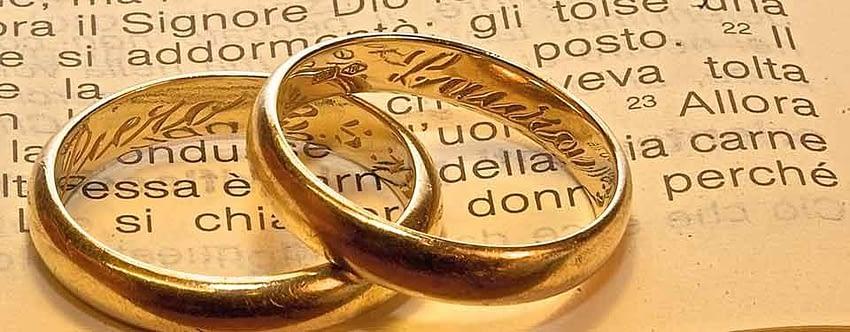 Inizio corso di preparazione al Sacramento del Matrimonio 2021/2022