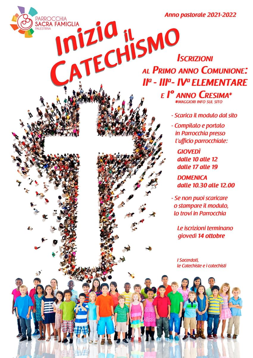 Inizia il Catechismo 2021-2022!