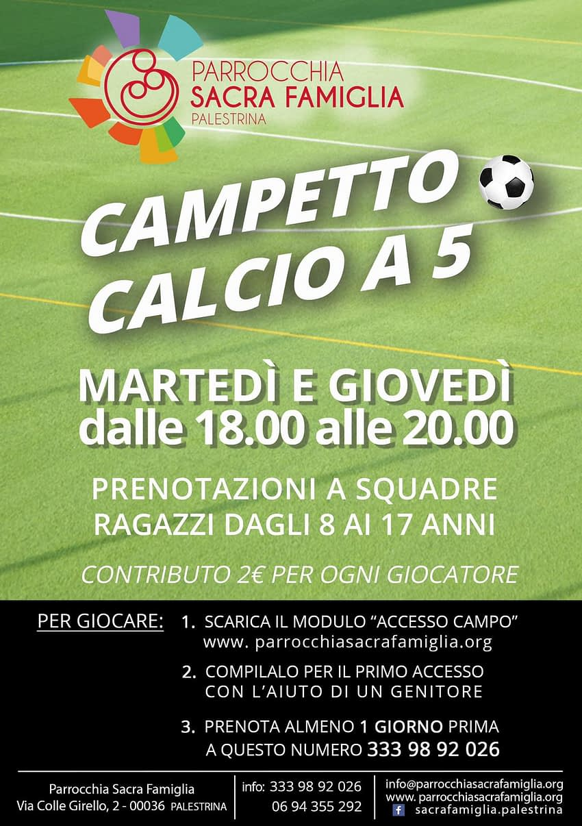 Campetto Calcio a 5